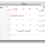 Mac Calendar delete Hebcal step 1